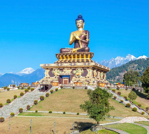 Pelling Ravangla Gangtok Tour in 7 days